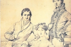 Comber family with George Wandesford c.1816