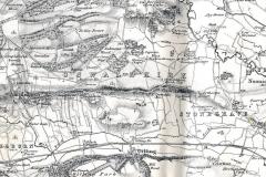 One inch Ordnance Survey map c.1848-1854