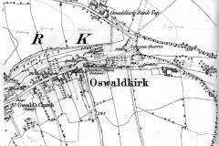 Ordnance Survey map 1854