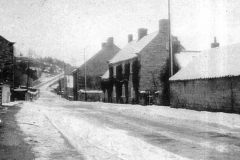 Main Street before the village hall was built