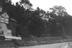 The corner c.1935 (note footpath beside fence)