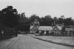 Gilling road, just widened 1938