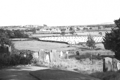 View from St Oswald's churchyard c.1946