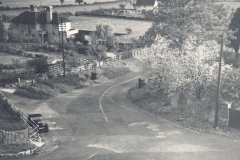 View down Gilling Road from Crag Cottage c.1950
