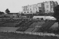 Gilling Castle and garden c.1950