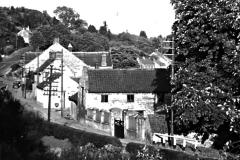 Manor Farm, estates yard and White's garage, c.1953