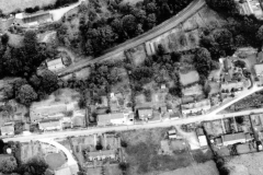 Aerial photo of Bank Road, c.1977